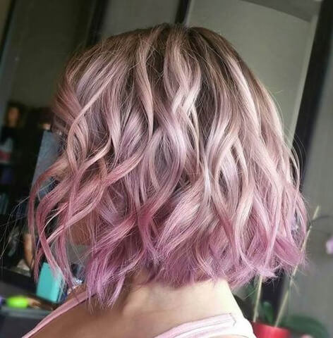 Short Ombre Hairstyle 2019