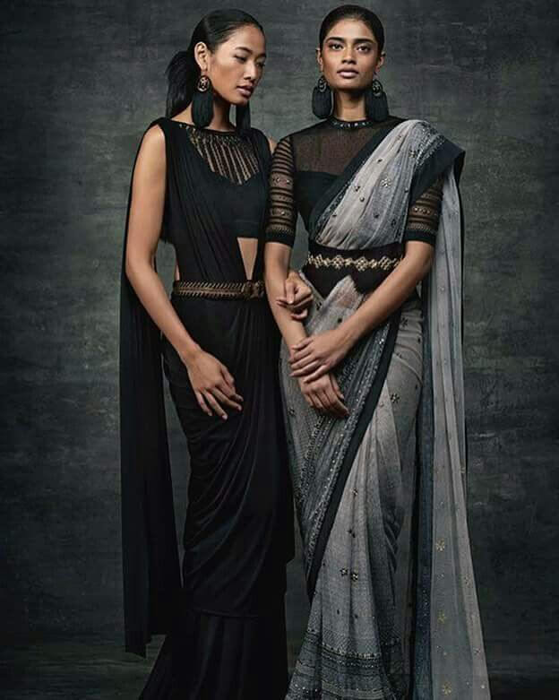 New Saree Deisgn Trends 2019