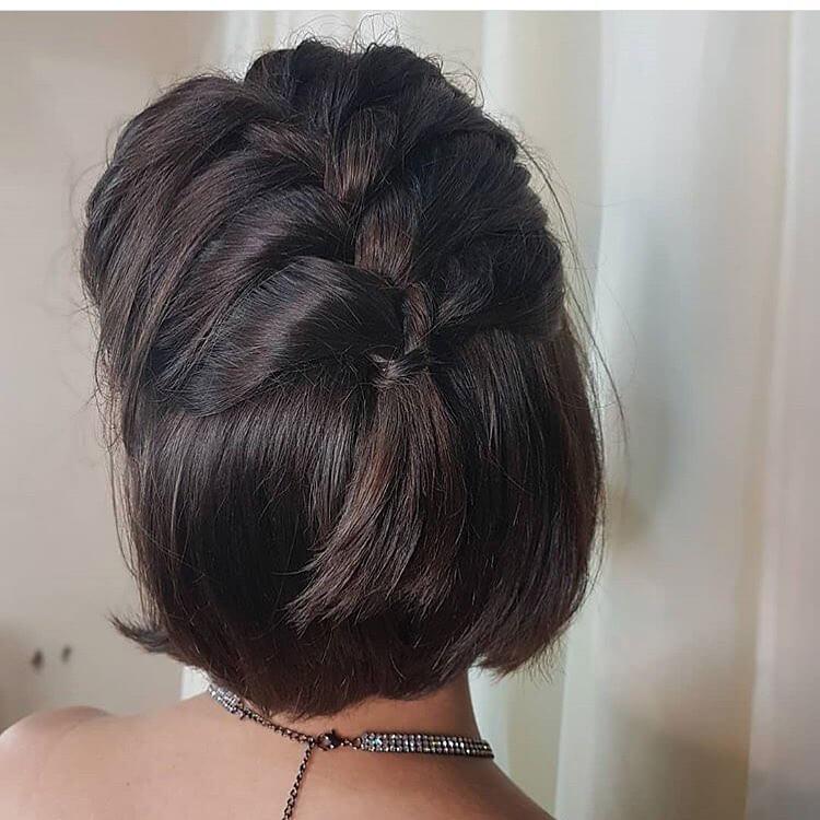 Half Braided Hairstyle 2019