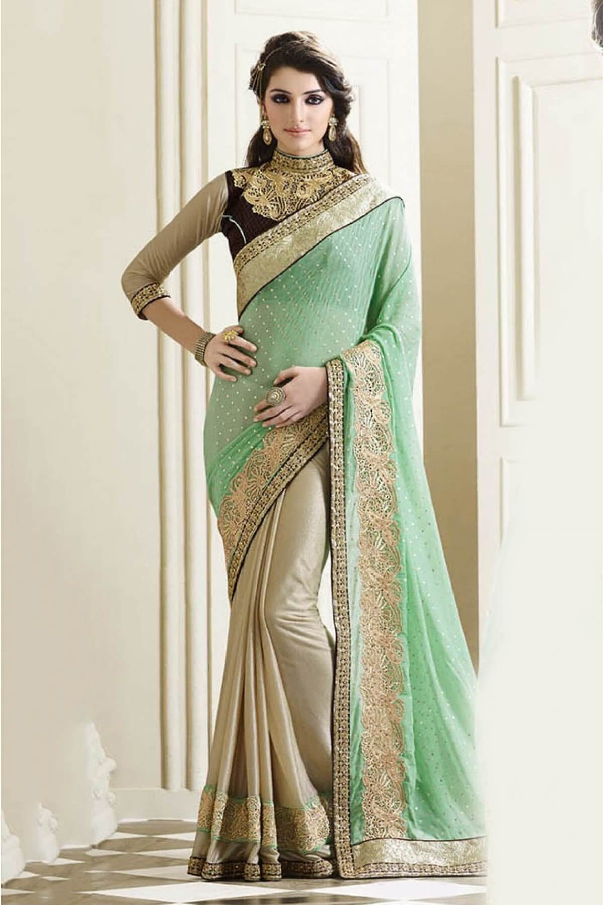 Latest New Saree Designs