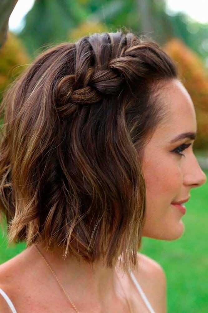 Braided Bangs Haircuts 2019