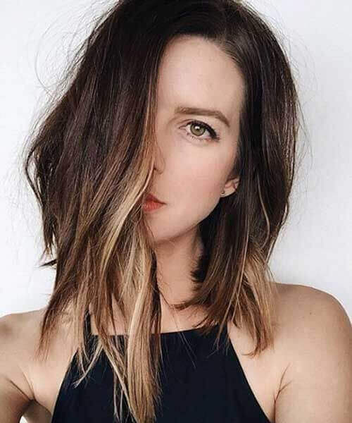 Choppy end with highlights Hairstyles 2019