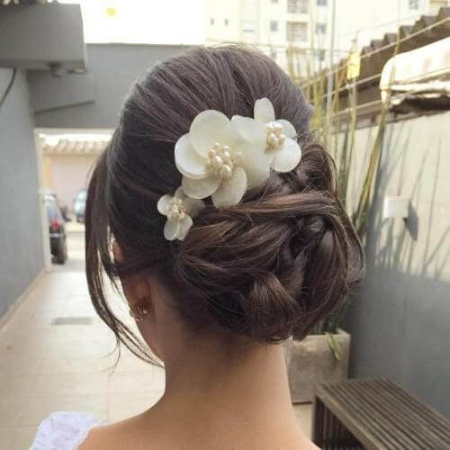 Elegant Twisted back bun Hairstyles 2020