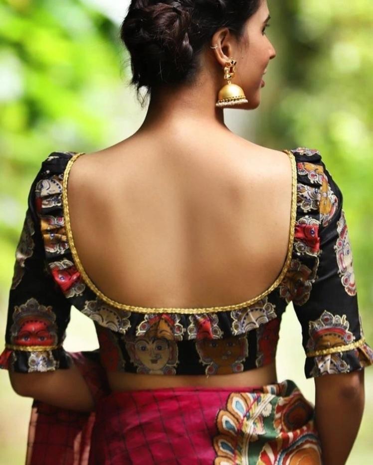 Blouse Designs Back Side