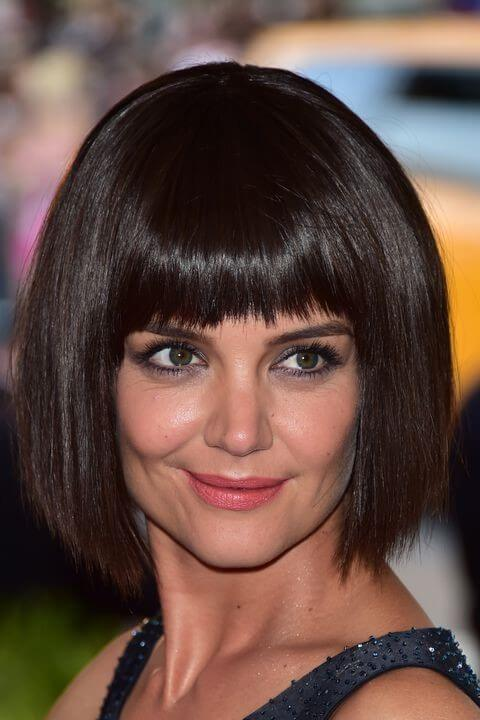 Edgy chopped bangs Short Hairstyles for Women 2020
