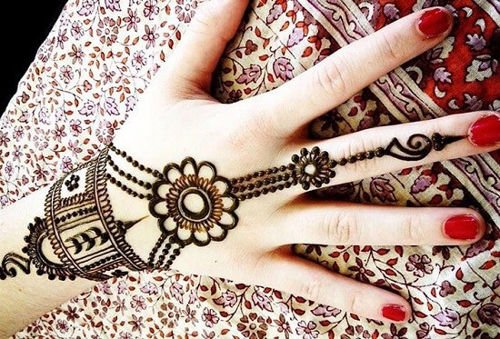 Flower bracelet style