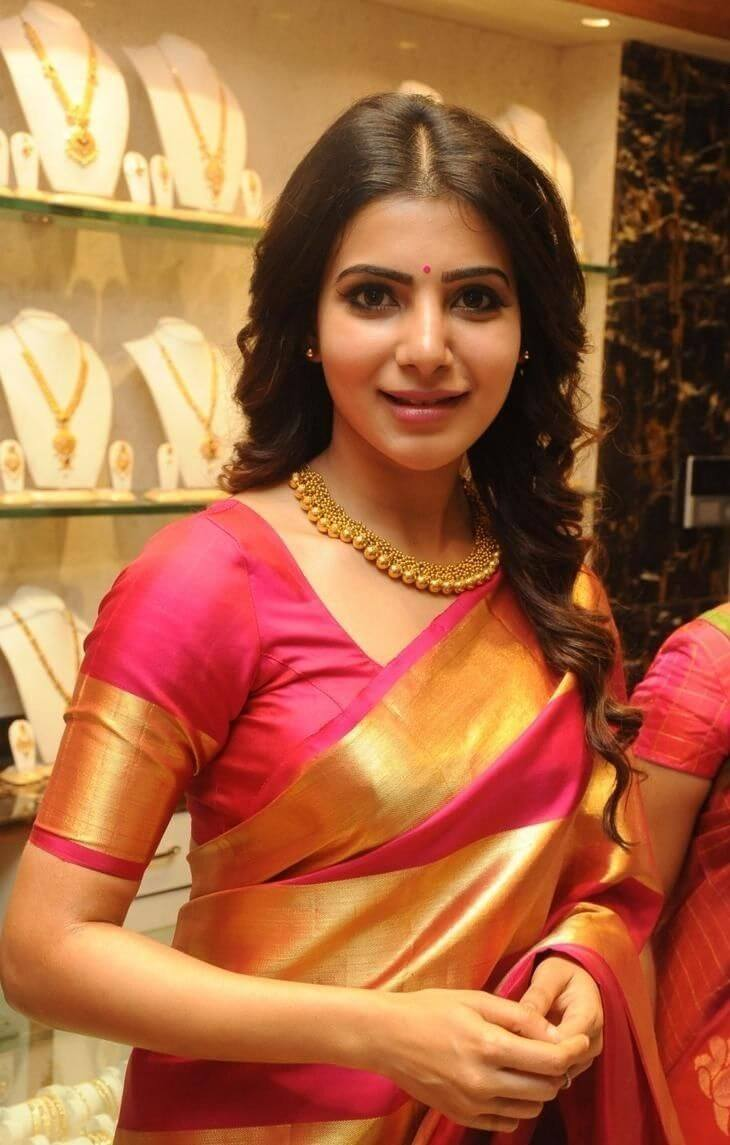 Pretty silk saree blouse designs