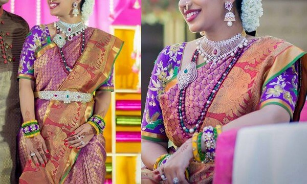Awesome Elbow Length Saree Blouse Designs