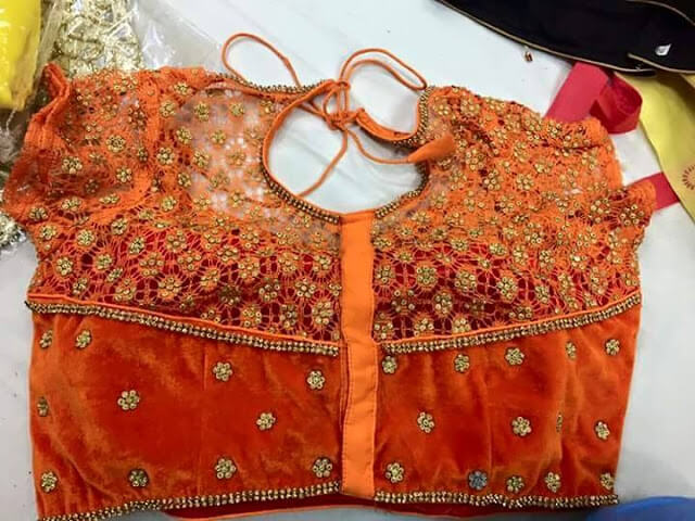 Extra Designer saree blouse designs