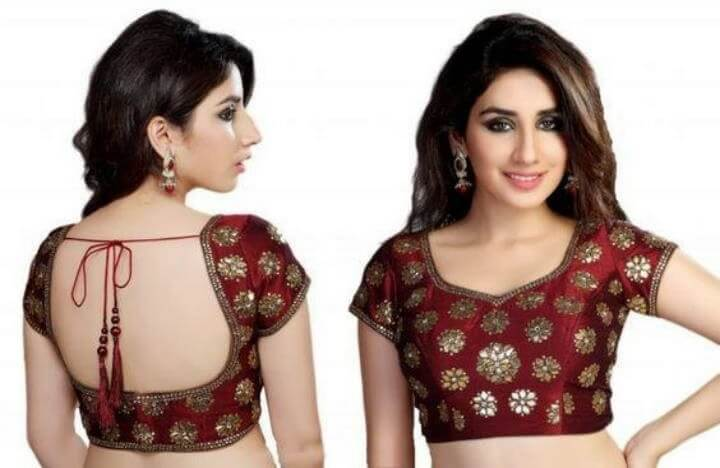 Saree Blouse Neck Designs 2020 Online Readymade Saree Blouse Designs Online Buy Fancy Blouses At Utsav Fashion Blouses Discover The Latest Best Selling Shop Women S Shirts High Quality Blouses