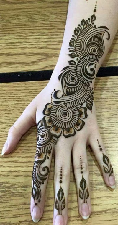 Latest Arabic Mehndi Designs 2020 Collection You Must Try