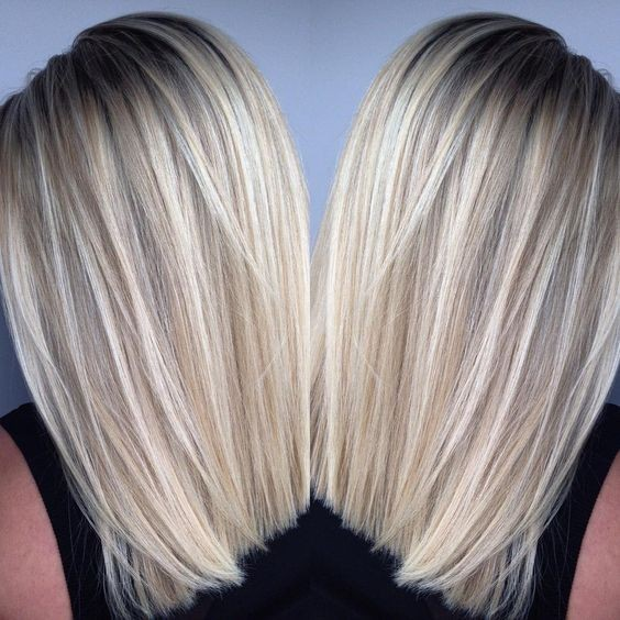 Straight Blonde trendy hairstyles 2021